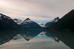 Portage Glacier a must see beauty during your stay.