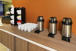 Coffee Station 24-Hours Available