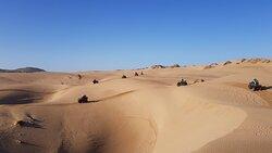 les quads dans les dunes