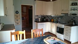 The kitchen is well-equipped and there is coffee, tea and local honey available.