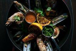 Boquerias classic paella
