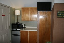 Kitchenette in the Classic Cozy Cabin