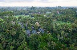 Hotel aerial shot