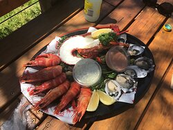 $70 Seafood platter for 2 at The Lobster Shack Bicheno