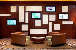 Lobby - Media Wall