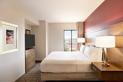King Bedroom Available in Both the 1 Bedroom & 2 Bedroom Suites