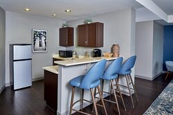 Presidential Suite - Dining and Kitchen Areas
