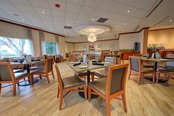 Enjoy a meal in our Bistro 46, where kids eat free.