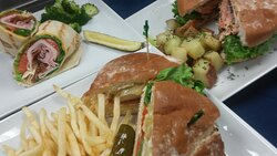 The Grille has a great variety of selections to enjoy!