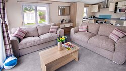 Lounge in the Sublime hot tub caravan