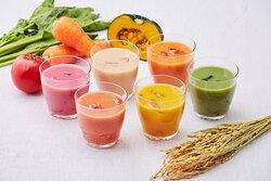 OH!!!~Fermentation, Health and Magic of Food!!!~ PieneCaféやさい糀甘酒 Veggie-malt smoothie at PieneCafé
