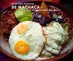 desayuno especial machaca con chilakiles