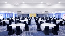 Park Suite can hold larger conferences, meetings and events.