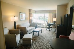 Two Room suites are great for one on one interviews
