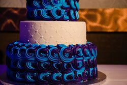 Brendenbeck's custom cake included in Wedding Package.