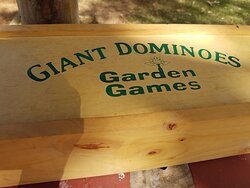 Just one of the free games. Giant Dominoes