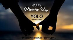 💞 Happy Promise Day 💞 Enjoy this Promise Day with someone you truly love and treat him/her a romantic date with some lip-smacking food at YOLO 😍🥰😍 Call Today To Book a Table 😍😍😍 Address - Anvik Lawns, Khaliamari, Dibrugarh-05 For Reservations kindly Contact - 9365054995 #smile #eat #laugh #talk #kiss #drink #shout #dj #party #youonlyliveonce😊🍽😀😌😘🍺😜💃💞