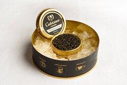 Caviar negro.