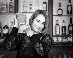 Bartender Laura.