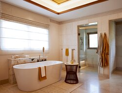 You would feel like Royal in this bathroom