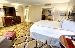 Extra space is available with our Superior King Room
