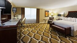 Enjoy one of our extra-spacious Superior King Rooms