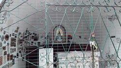 Ermita de la Virgen de Lujàn en Plaza San Juan Bosco: Localidad de San Bernardo del Tuyù, Partido de la Costa, Pcia. de Bs.As. - Argentina 2020.