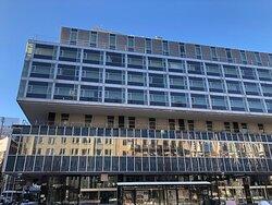 Nordic Light Hotel från utsidan