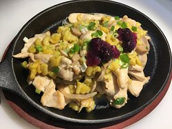 Chicken in Gorgonzola Sauce