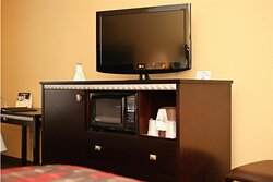 Room Amenities - Microwave & Fridge