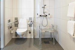 scandic rubinen room disabled bathroom