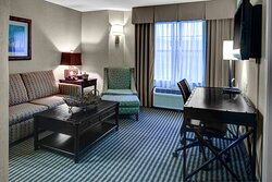 Upgrade to a beautiful King Suite for extra room for the family