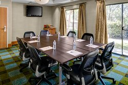 Our Sidney Marcus room is perfect for smaller meetings
