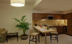 Kitchen of 1-Bedroom Executive