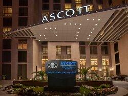 Facade of Ascott Rafal Olaya Riyadh