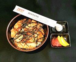 Salmon Ikura Don. Healthy and Fulfilling.  www.bentoyadelivery.com/?p=main