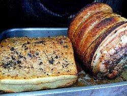 lombo/pancia di maiale nazionale in cottura