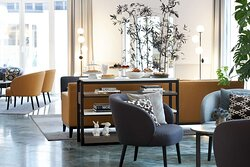 Classik Hotel Collection Alexander Plaza Lobby Beverage Cake Tea Time Web