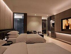 DeluxeDoubleCity Room Inward