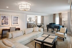 The Presidential Suite - Living Area