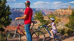 Bike Ride at the Grand Canyon
