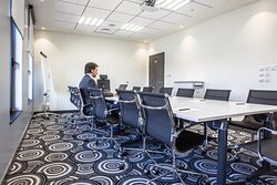 Fully equiped meeting room perfect for your business events
