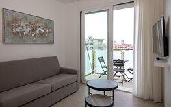 Zona living - balconcino appartamenti.