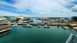 Fantastic sea view.