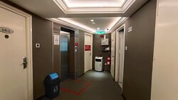 Our rooms are next to elevator