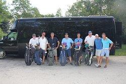 Golf Shuttle Bus
