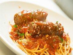 Spaghetti with Italian Sausage