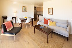 Corner Suite 19 Living room