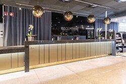 scandic rosendahl hotel lobby