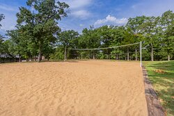 Enjoy the outdoors and play some beach volleyball!